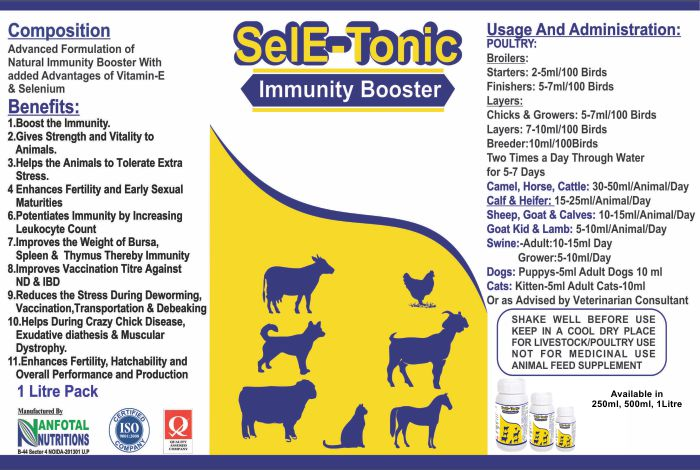 Goats immunity booster,  Stress reliever supplement